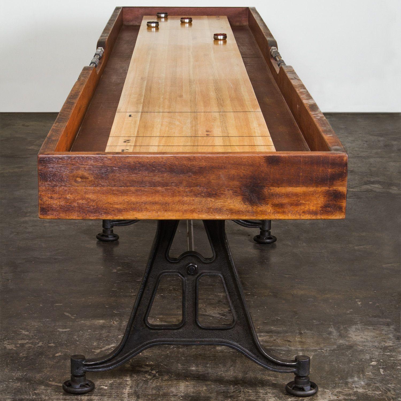 District Eight 12' Shuffleboard Table