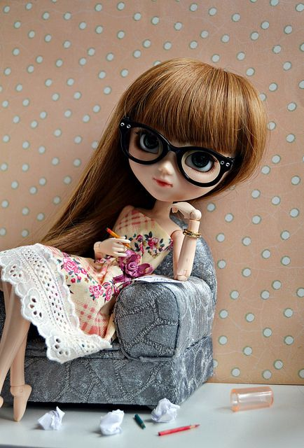 558680dc15836 Nerdy girl     Pullip Dolls     Pinterest   Blythe dolls, Cute dolls ...