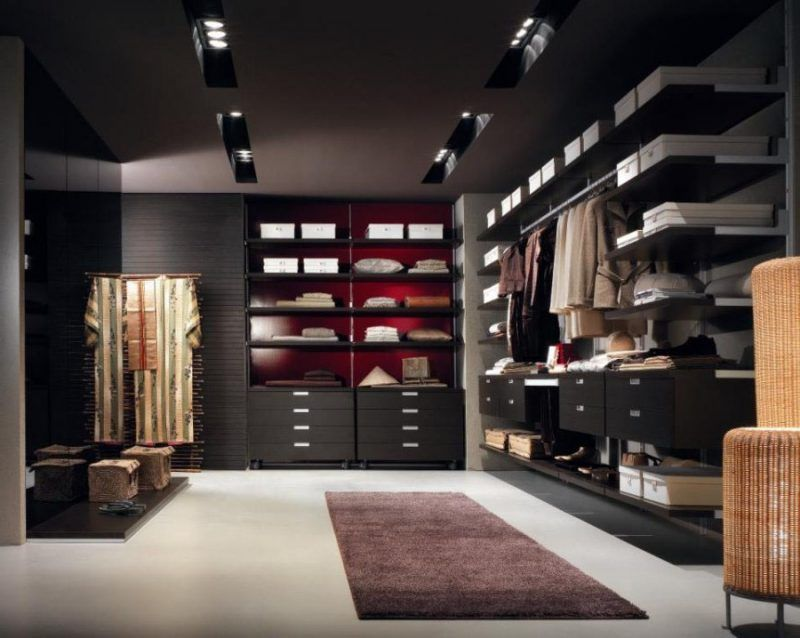 Ein Hauch Luxus \u2013 27 Ideen für offene Kleiderschranksysteme möbel