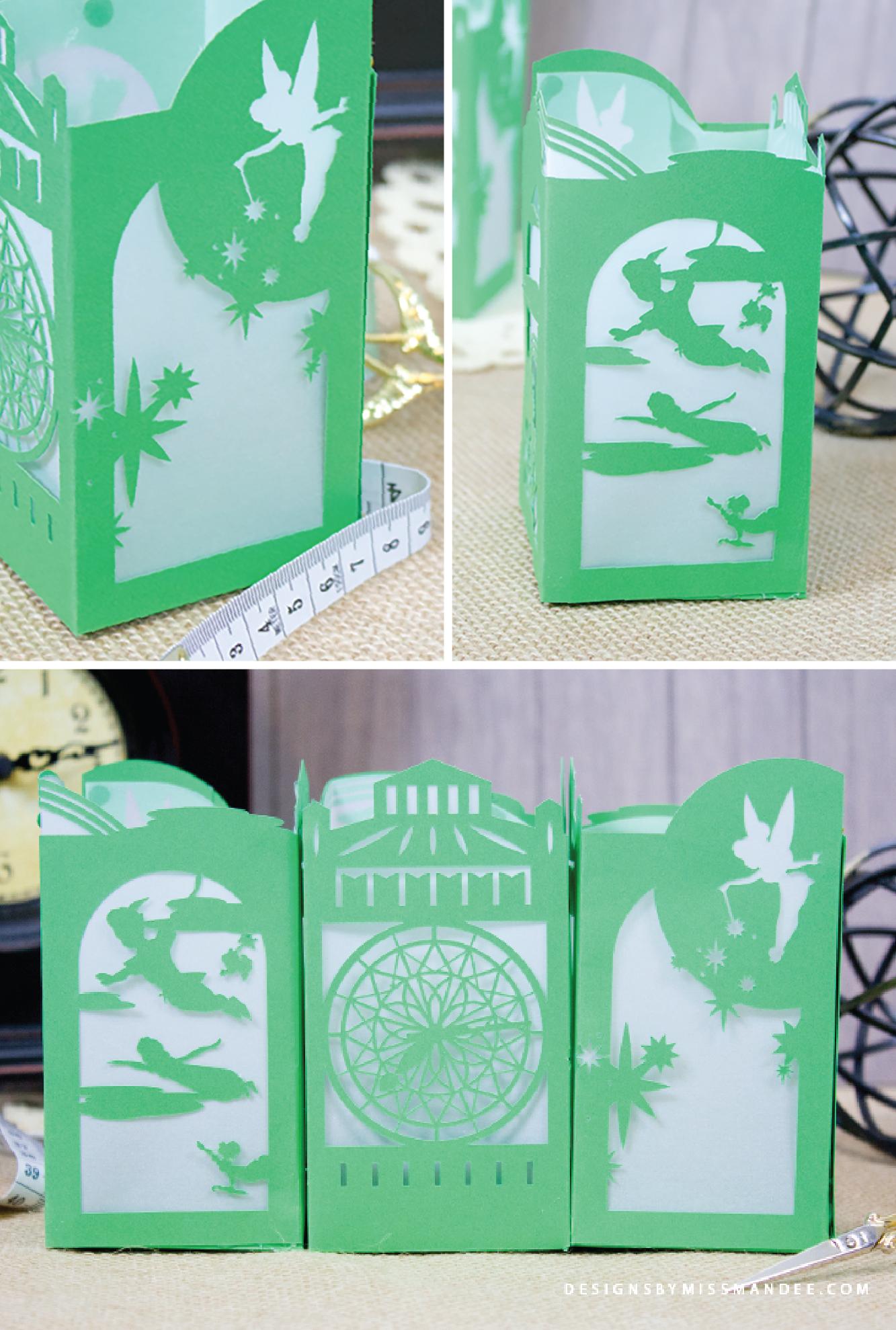 Peter Pan Paper Lantern Cricut Paper Cricut Paper Lanterns
