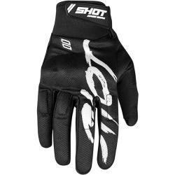 Photo of Shot Drift Razor Motocross Gloves Black White Xlfc-moto.de