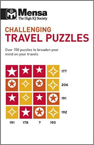 Mensa Challenging Travel Puzzles Mensa 9781780970516