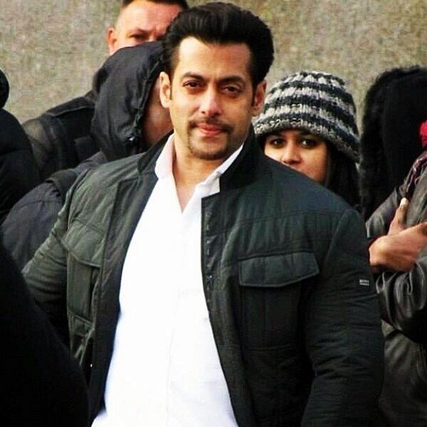 Salman Khan on the sets of #Kick #Spotted #still #click