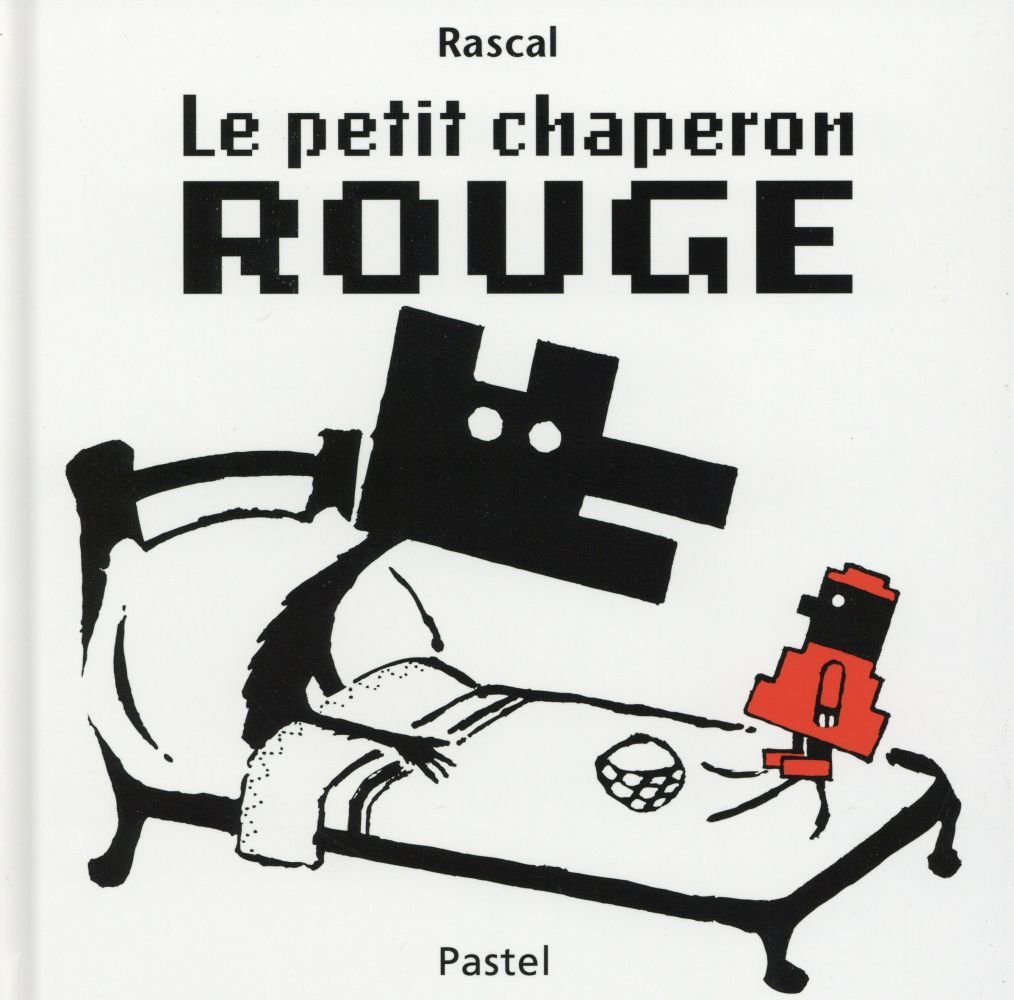 Ce Conte Tres Celebre Est Ici Propose Dans Une Version Sans Texte Simplement En Noir Et Blanc Et Noir Et Roug Le Petit Chaperon Rouge Chaperon Rouge Rouge