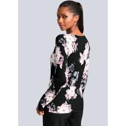 Photo of Alba Moda, Pullover dekorativ mit Strass verziert, schwarz Alba Moda