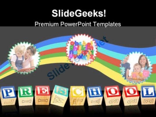 preschool education powerpoint template 1110 #powerpoint, Powerpoint templates