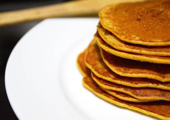 Pancakes de zanahoria con avena.