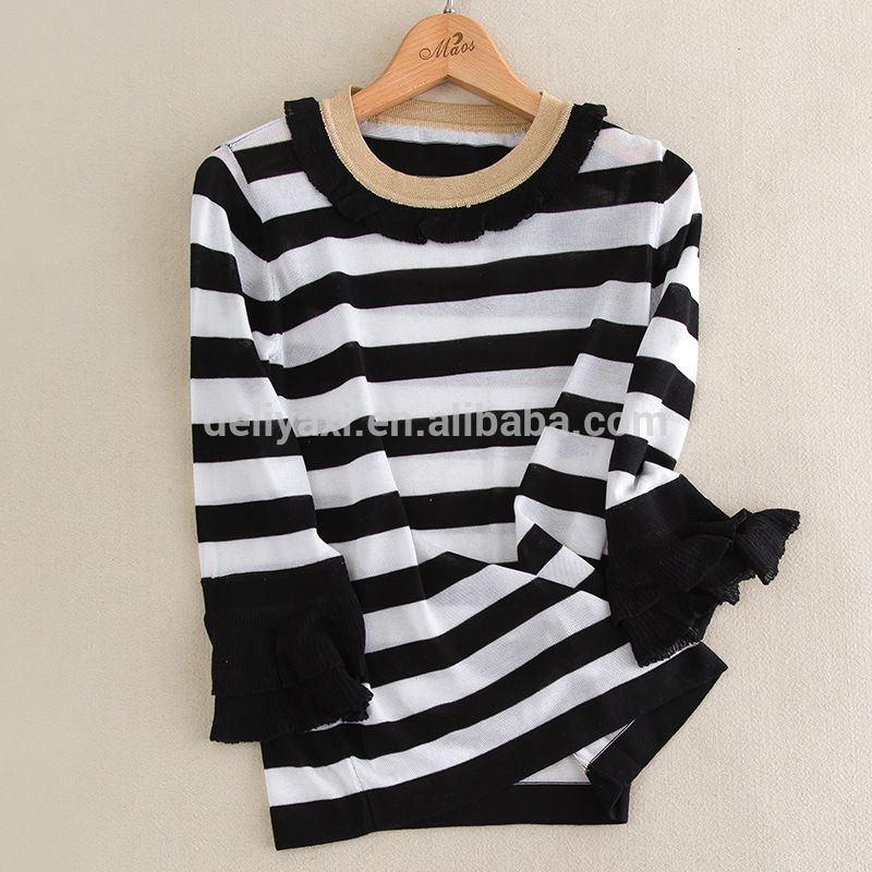 7ffc90119e44 women half sleeve sweater woolen sweater new designs for ladies eco ...