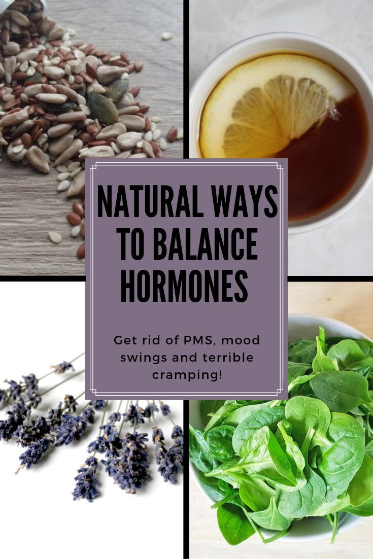 10 ways to balance hormones naturally and reduce pms