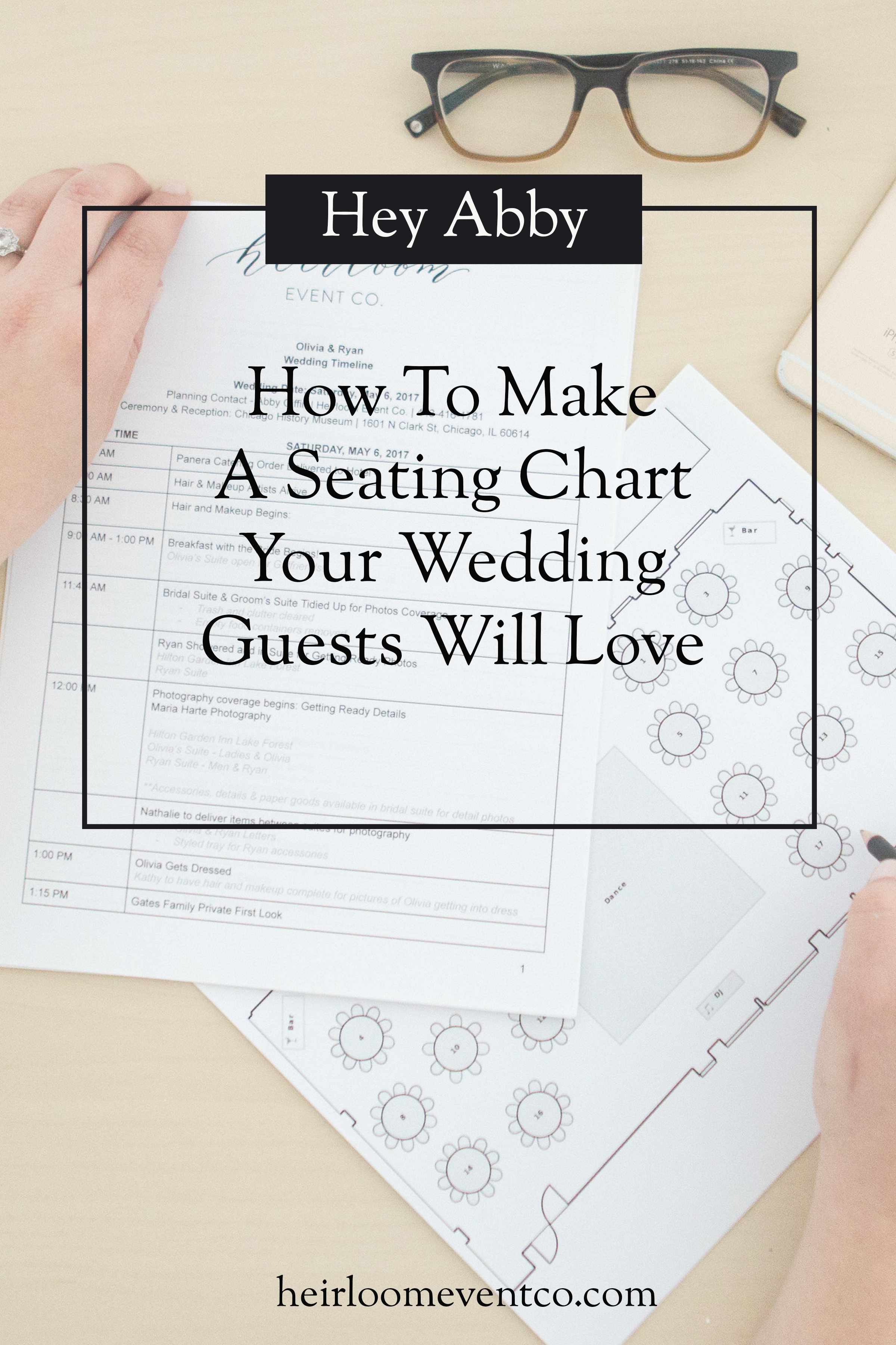 hey abby how to make a seating chart your wedding guests will rh pinterest com