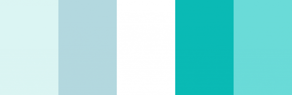 Tiffany Blue Color Palette For Baby Sears 4 Katy