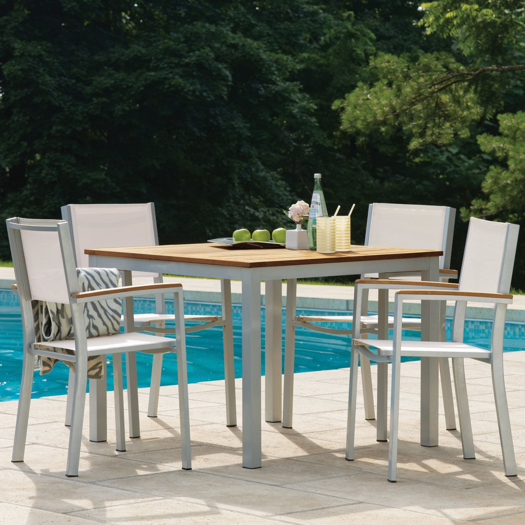 farmington 5 piece dining set with sling back chairs products rh gr pinterest com