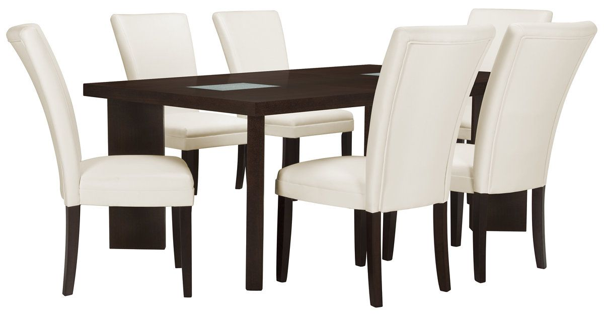 Dining set includes Rectangular dining table and