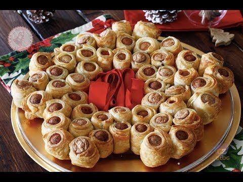Antipasti Di Natale Coreografici.Stella Di Natale Di Pasta Sfoglia Un Antipasto Semplicissimo Da