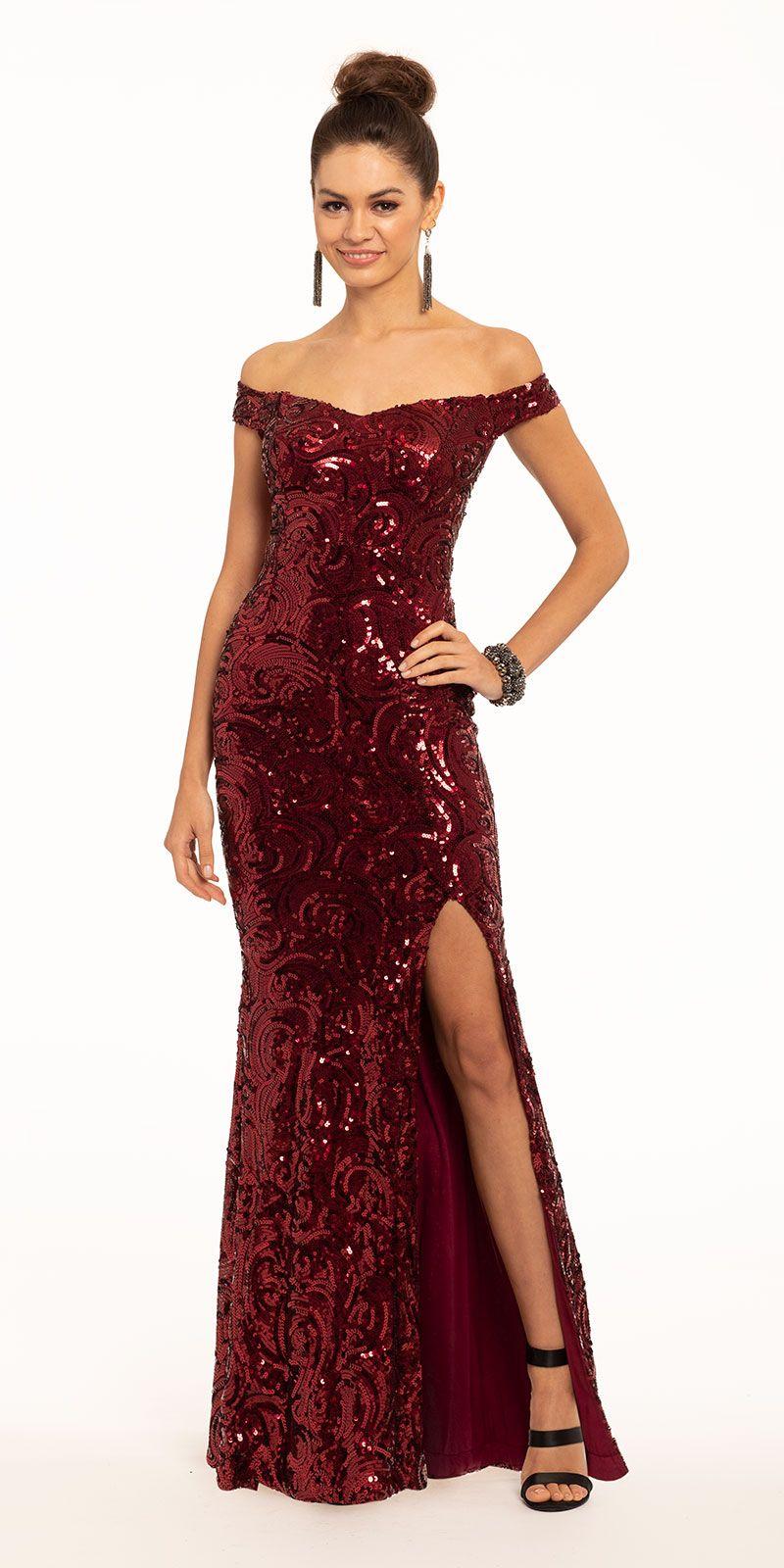 Off The Shoulder All Over Sequin Dress Wedding Guest Dress Pageant Dresses Sequin Dress [ 1600 x 800 Pixel ]