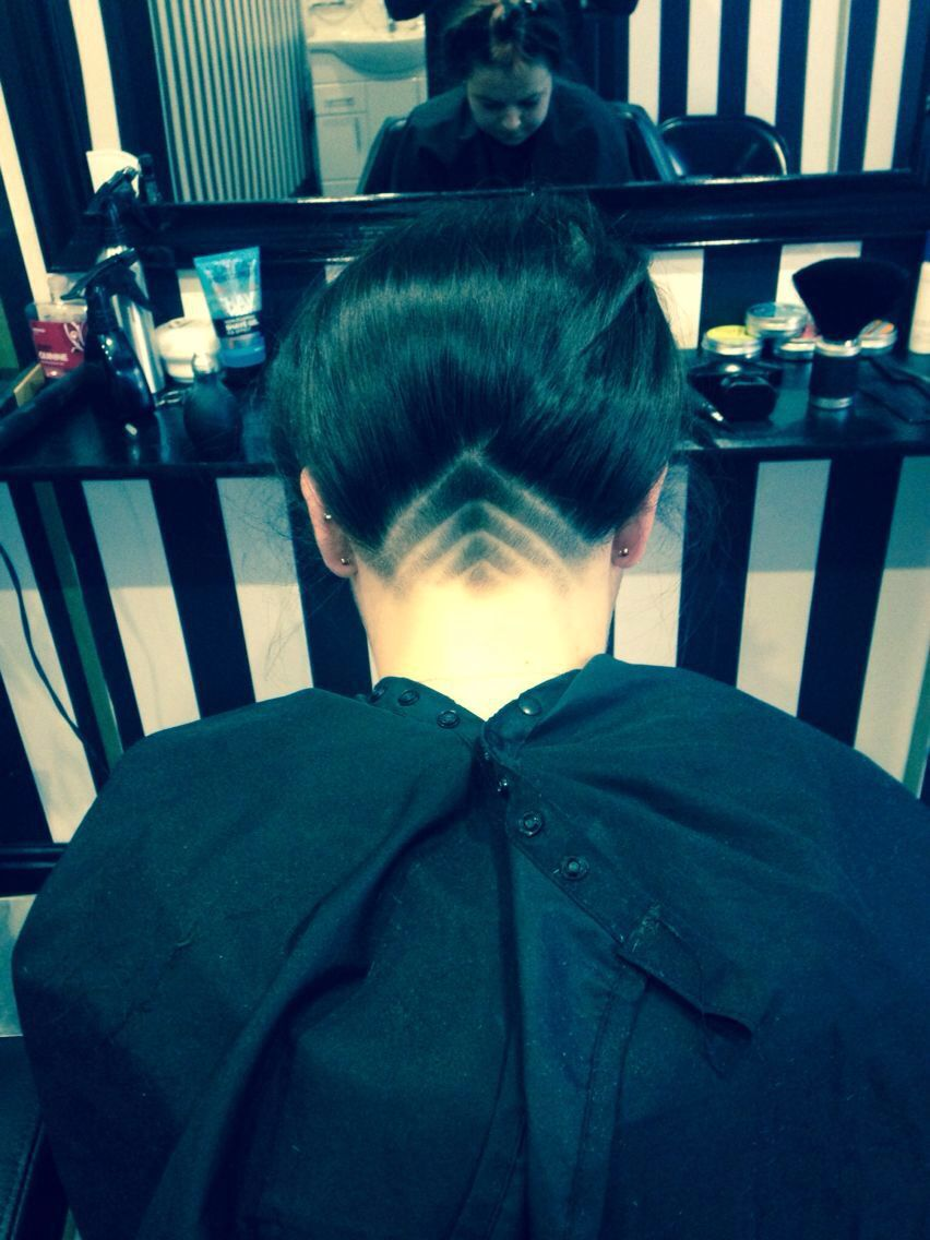 Small Undercut Design. newstetbarberskirkby