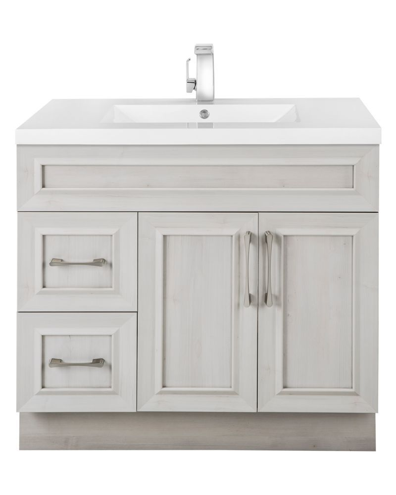 36 inch meadows cove taransitional 2 door 2 drawer vanity left hand rh pinterest co uk