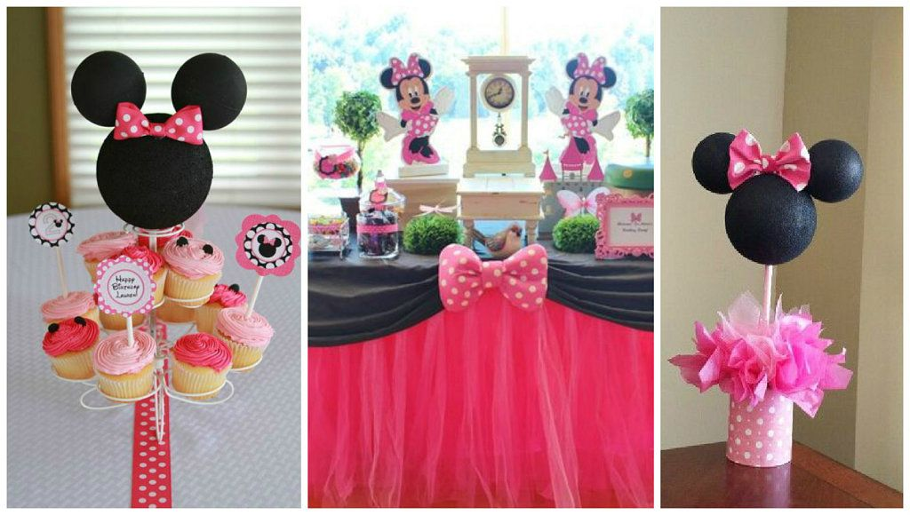 Ideas diy para una fiesta tem tica de minnie mouse - Manualidades minnie mouse ...