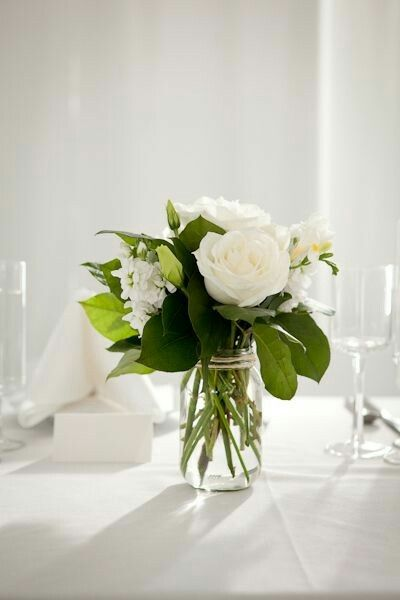 Pin By Meechal Roizman On Pesach White Flower Arrangements Wedding Flower Arrangements Wedding Decorations