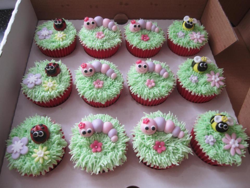 Garden Cupcakes..........CUTE