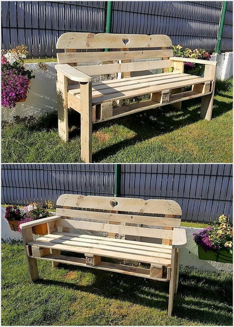 20 plus amazing plans for wooden pallet reusing pallet furniture rh pinterest com