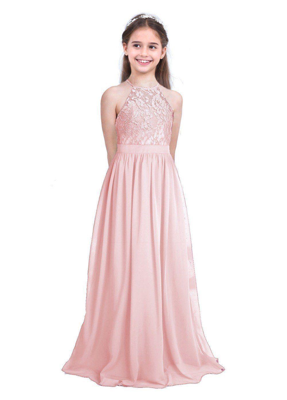 Girls Pink Flower Girl Dress For 12 Year Olds Pink Flower Girl Dresses Wedding Dresses For Girls Chiffon Flower Girl Dress [ 1390 x 1000 Pixel ]