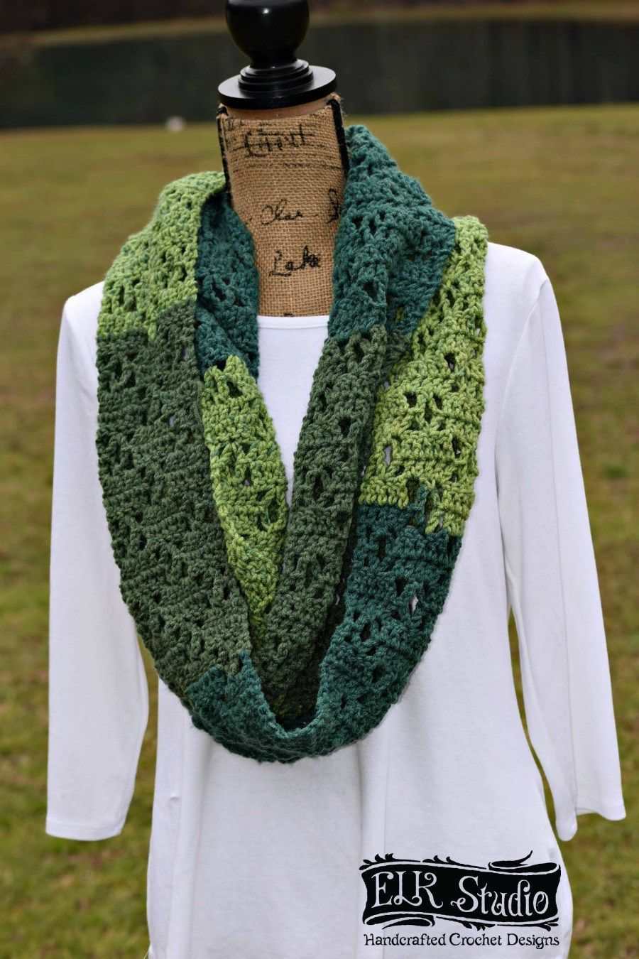 The Vintage Bloom Scarf Crochet Designs Crochet Easy