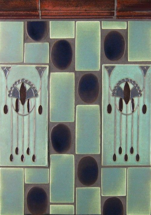 art deco handmade tile for the kitchen  art deco handmade tile for the kitchen    house  tiny   pinterest      rh   pinterest co uk