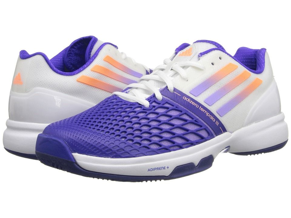 Adidas Cc Adizero Tempaia Iii White Light Flash Purple Night