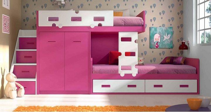 Literas para habitaciones infantiles cuartos hermosos - Habitaciones infantiles tren ...
