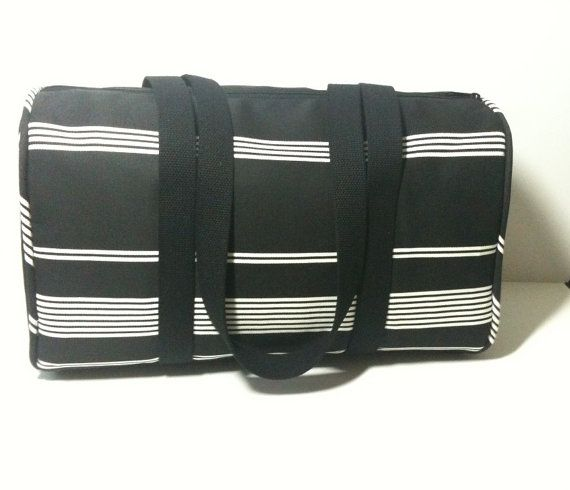 Overnight Bag Duffle Gym Commuter By HibiscusRoad 4000