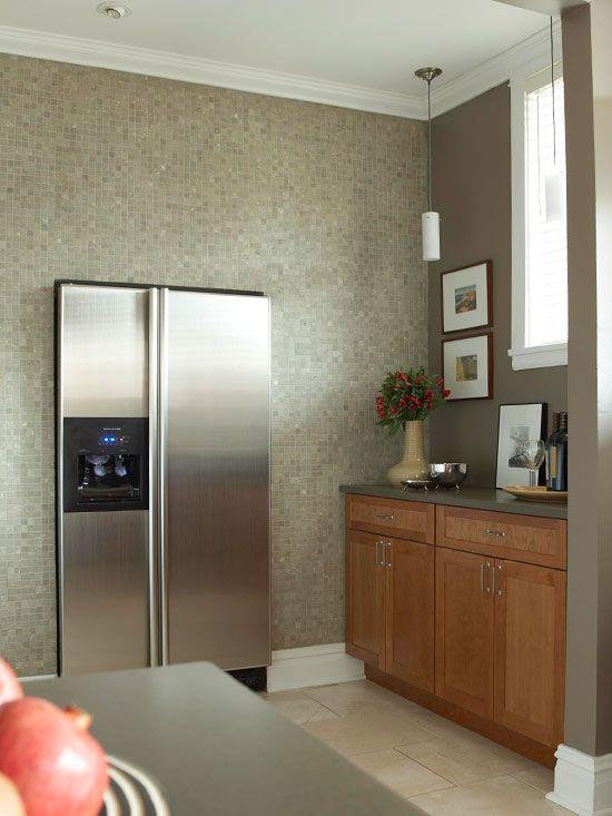 Kompakte Küchen, die die kleine Fläche größer aussehen lassen ...