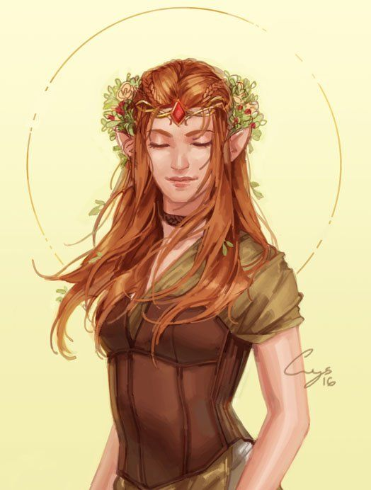 Image result for Fantasy female druid nymph