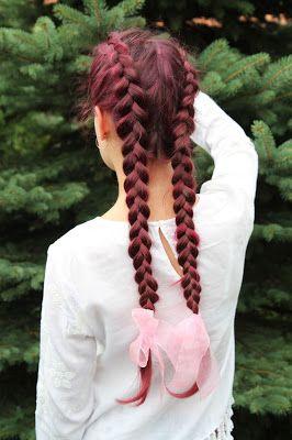 Warkocze holenderskie i boho outfit (Double Dutch braids and boho outfit) Go visit julieeett.blogspot.com💞