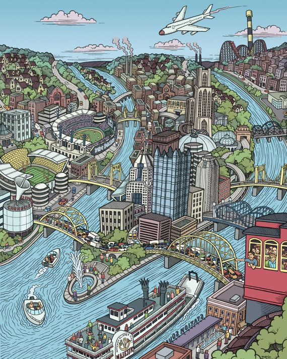 Pittsburgh Print | Pittsburgh art, Pittsburgh map, Pittsburgh on pittsburgh art map, pittsburgh black map, pittsburgh simple map, pittsburgh interactive map, pittsburgh aviation map, pittsburgh illustration, pittsburgh history, pittsburgh photography,