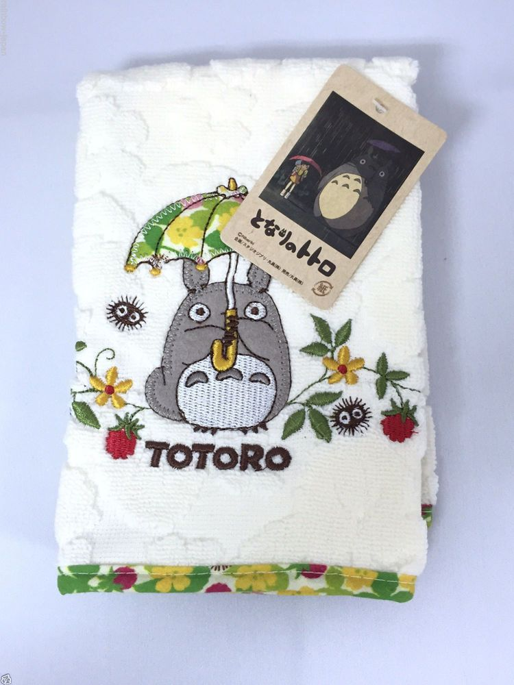 My Neighbor Totoro Hand Towel 38 x 38cm Studio Ghibli 03252 From Japan