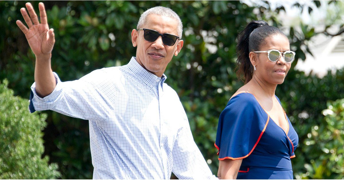 Barack and Michelle Obama Are Living Their Best Lives on Vacation Right Now