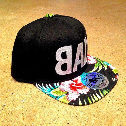 ~BAD Hawaiian print SnapBack~
