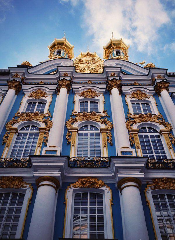 Hermitage Museum: exterior detail, st petersburg, russia