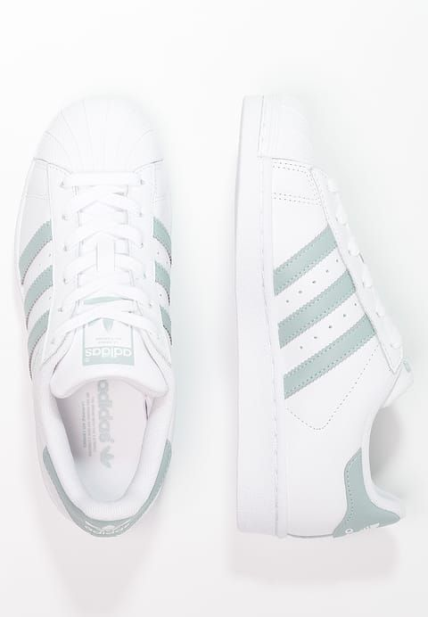 d8591c1ae48ec2 Chaussures adidas Originals SUPERSTAR - Baskets basses - white tactile  green blanc  100