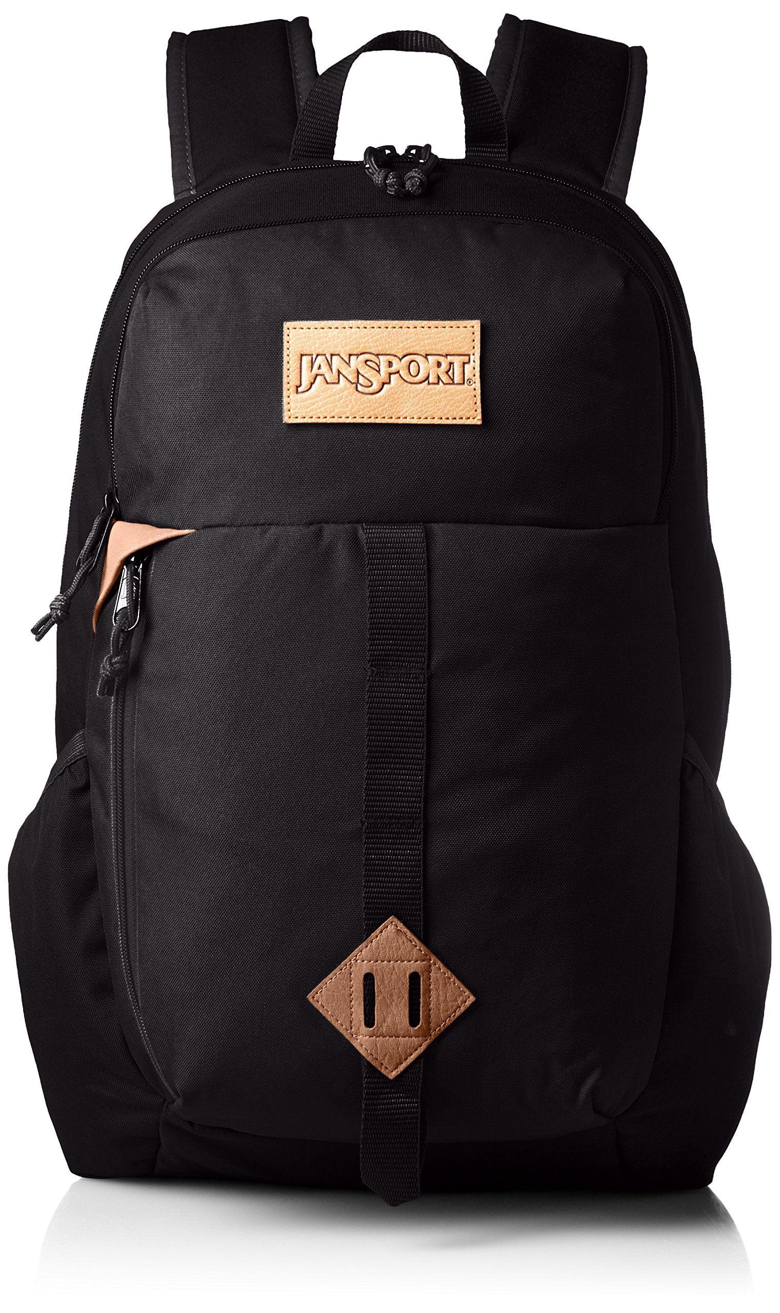 JanSport Hawk Ridge Laptop Backpack (Black)  d5439a48e