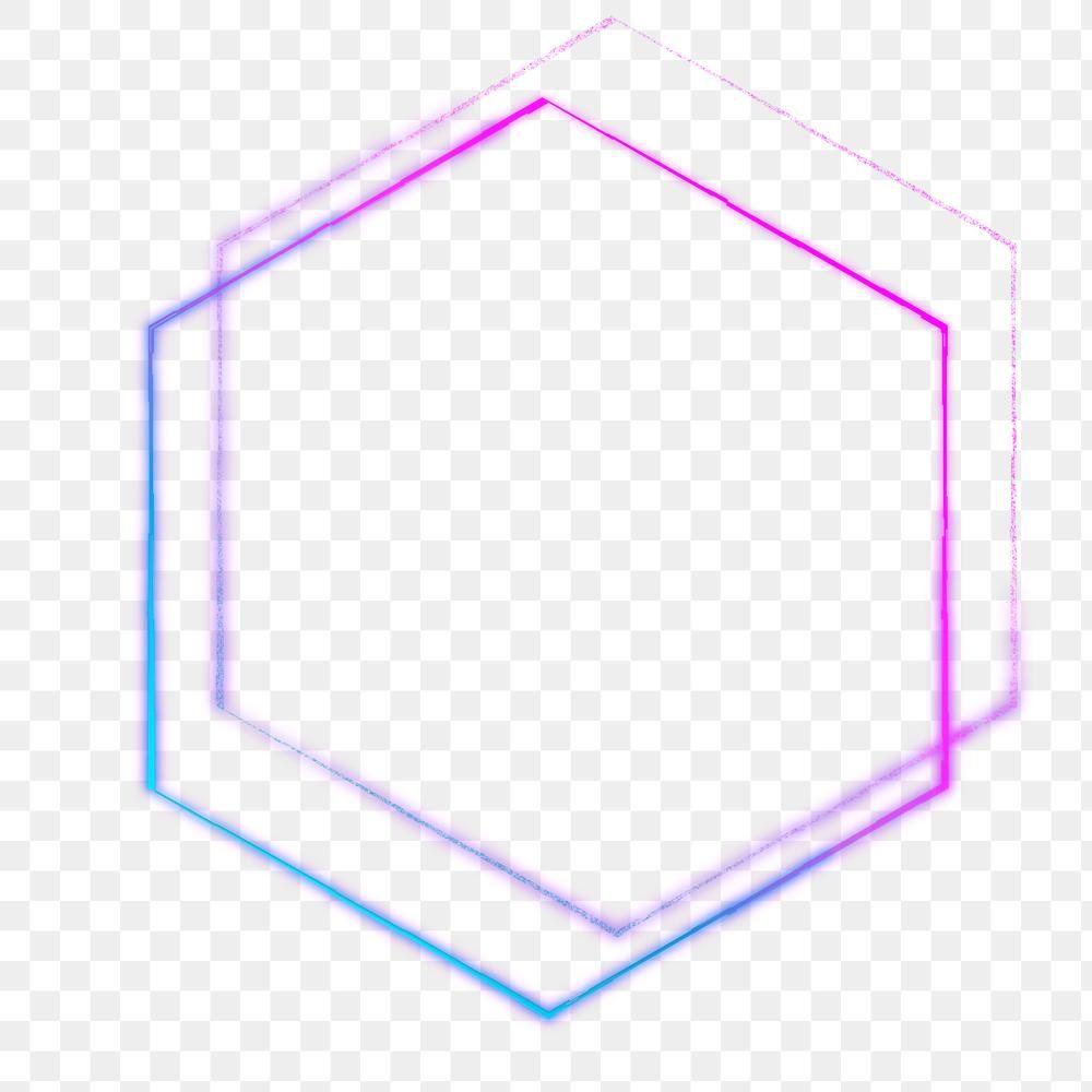 Neon Purple Hexagon Shape Design Element Free Image By Rawpixel Com Sasi In 2021 Hexagon Shape Design Element Geometric Pattern