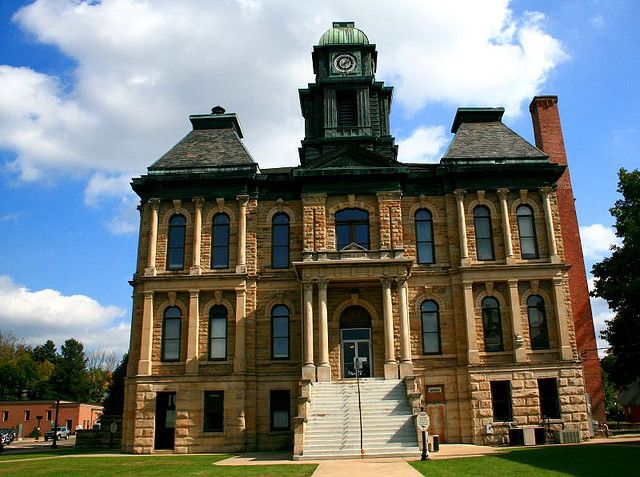 Holmes County Courthouse Holmes County Amish Country North Country