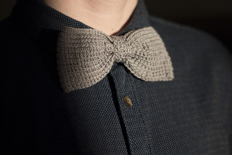 Crocheted bowtie / Virkattu rusetti