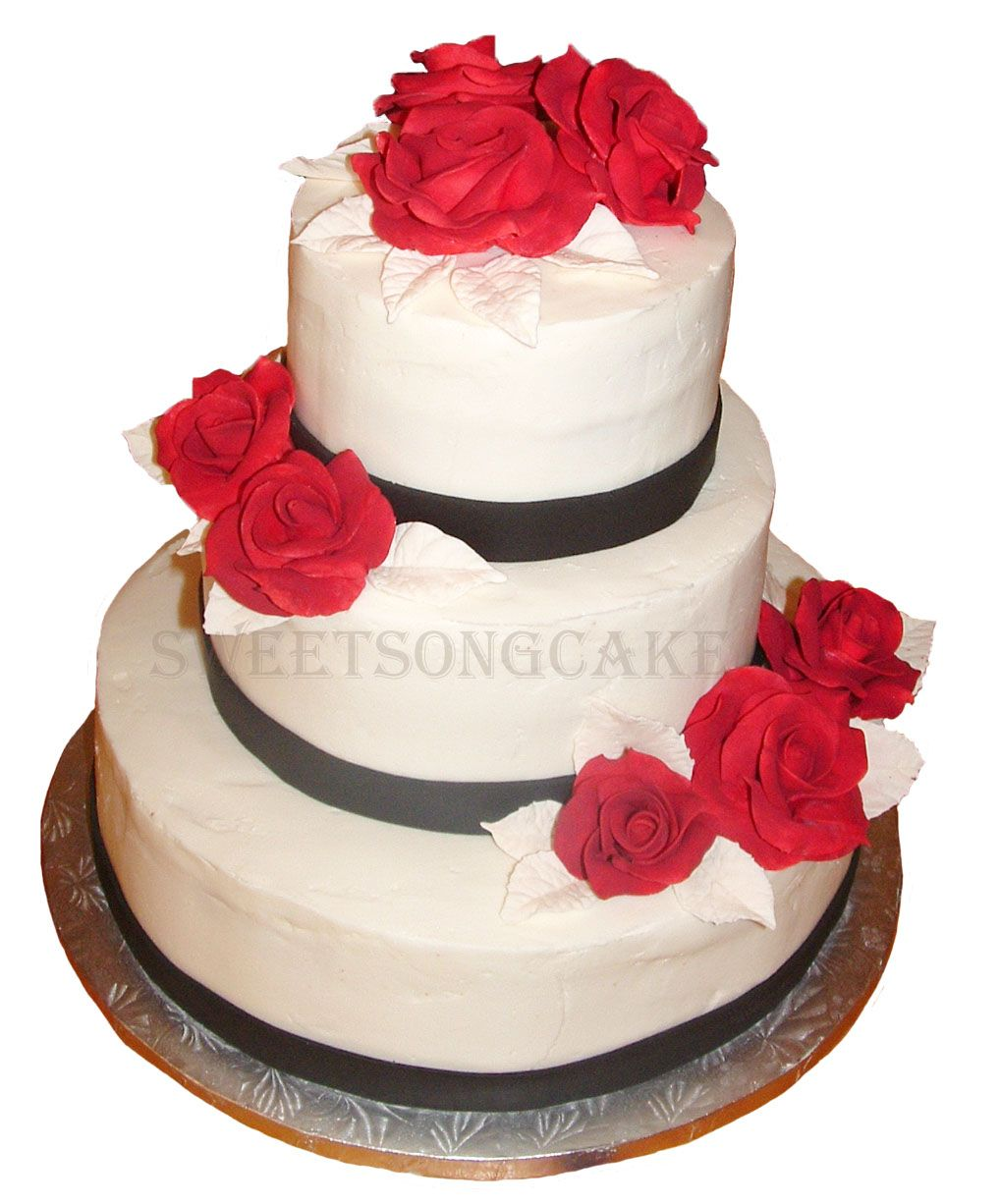 Black white red wedding cake ottawa wedding cakes pinterest