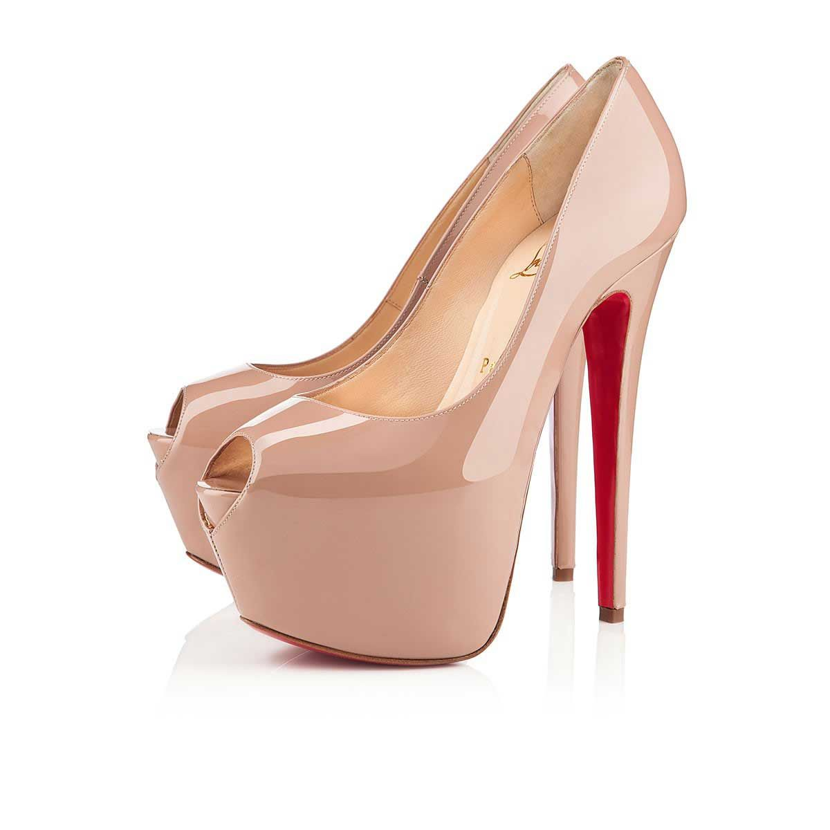 Christian Louboutin Canada Official Online Boutique - Highness 160 Nude  Patent Leather available online. Discover more Women Shoes by Christian  Louboutin