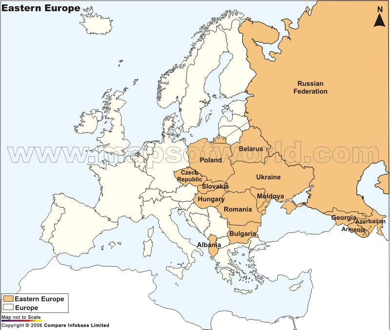 Map of eastern europe yahoo would travel europe central map of eastern europe yahoo gumiabroncs Image collections