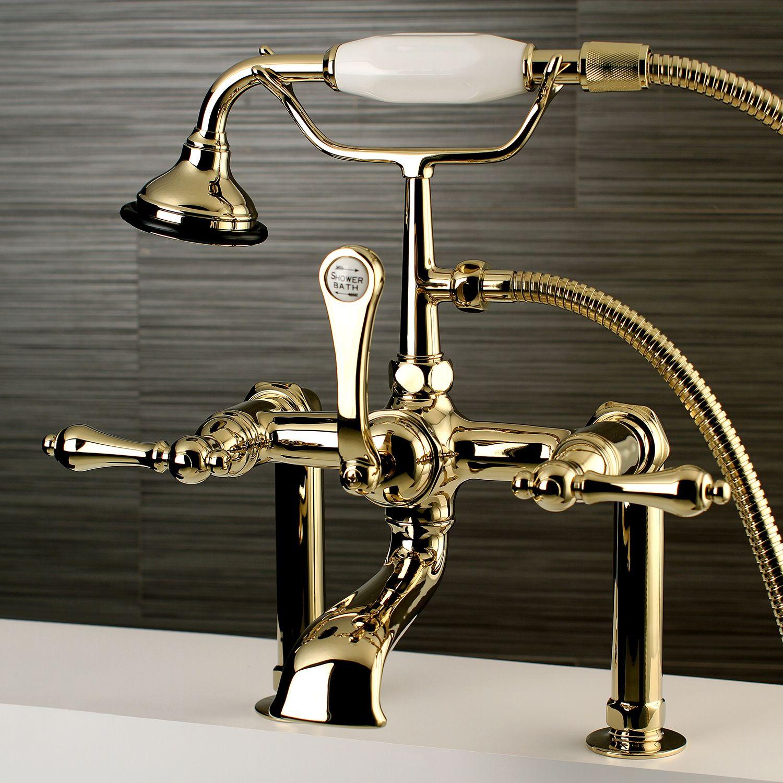 Kingston Brass Vintage Clawfoot Tub Faucet Clawfoot Tub Faucet