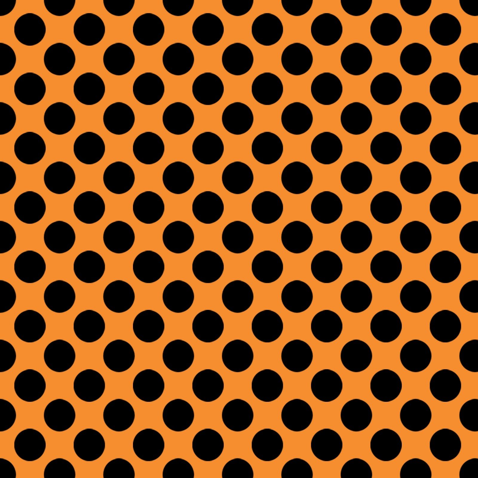 Scrapbook ideas black background - Free Digital Scrapbook Paper Thank You For The Special Request From A Fabulous Fan Orange Black Polka Dots Perfect For Halloween Background Paper