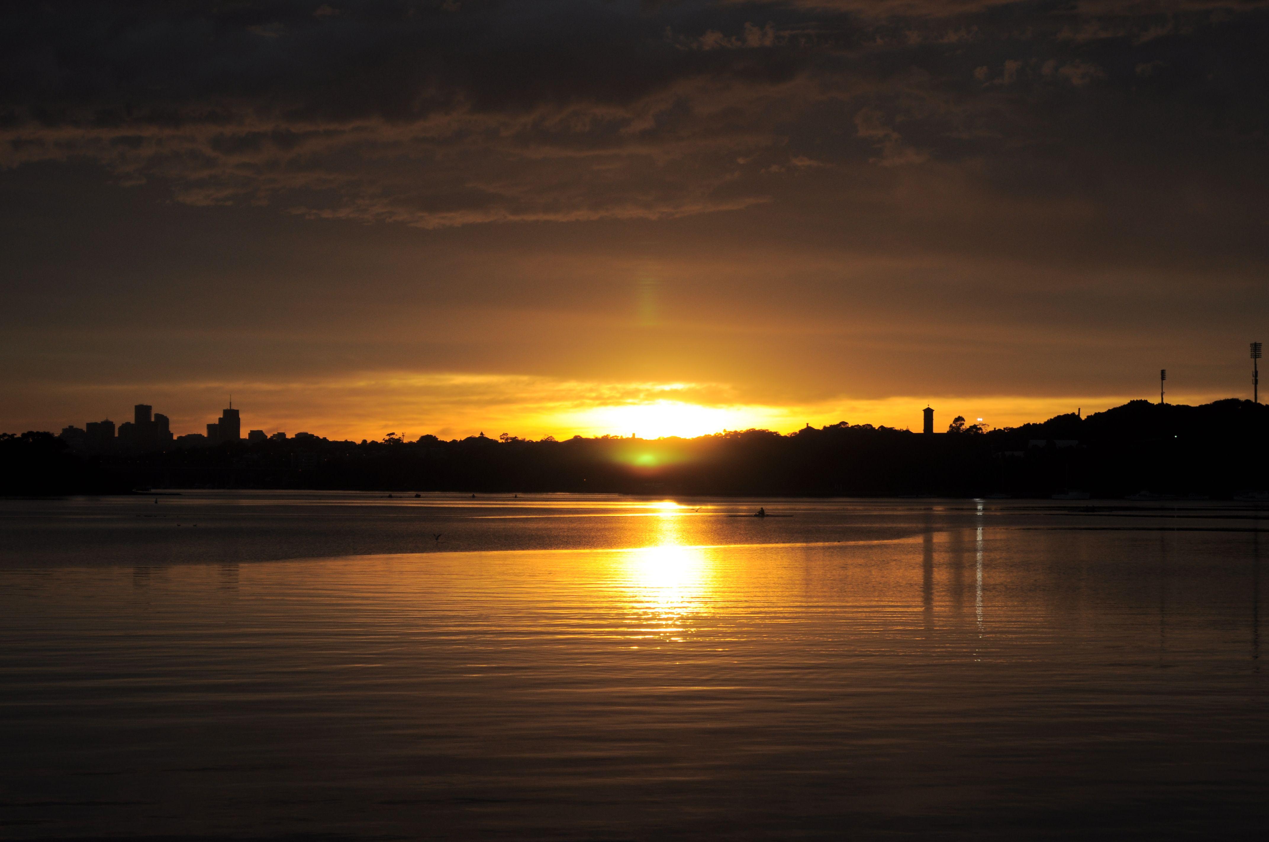 Beautiful sunrise in Croydon, Sydney